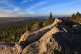 Kösseine, Fichtelgebirge - Aussicht zur Selb-Wunsiedeler Hochfläche