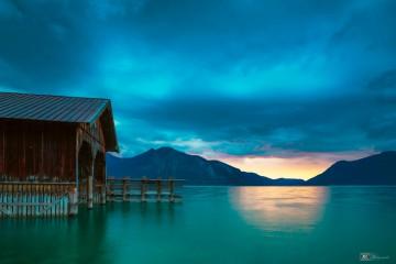 Walchensee, bayerische Alpen