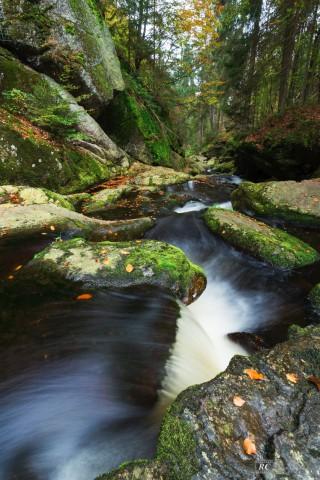 Steinklamm, Bayerischer Wald