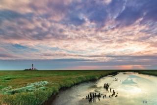 Westerhever Sand, deutsche Nordseeküste