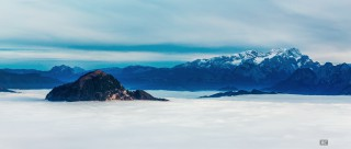 Rossfeld, bayerische Alpen