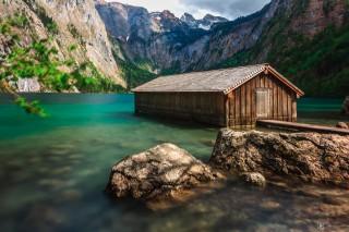 Obersee, bayerische Alpen