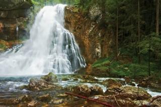 Gollinger Wasserfall, Österreicher Alpen