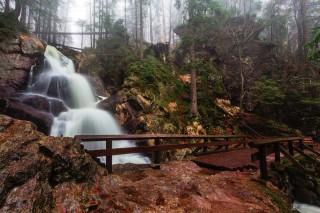 Risslochfälle bei Bodenmais, Bayerischer Wald
