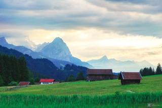 Zugspitze, bayerische Alpen