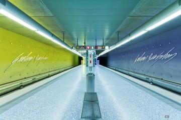 Fotowettbewerb 25 Jahre VGN - U-Bahnhof Nürnberg